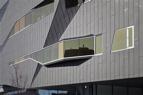 Stephen Wall Design Architecture by Wall Panels Flat Lock From Vmzinc