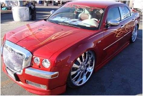 Custom Chrysler 300 Accessories by Complimentary Chrysler 300 Grille Accessories