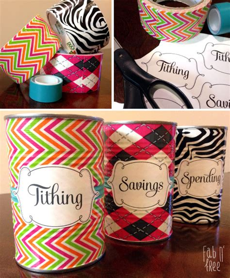 printable money jar labels tithing savings spending jars free printable labels