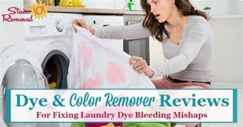 how to get color bleed out of clothes color remover to get bleeding dye stains out of clothes