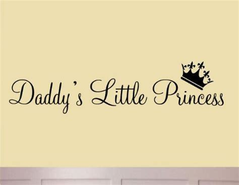 cute girl dp with quotes daddy s little princess nursery wall decals cute baby