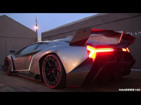 Sound Of Lamborghini Engine Lamborghini Veneno Engine Sound