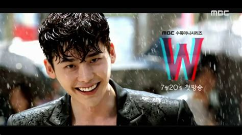 drama lee jong suk youtube teaser w two worlds 더블유 korean drama first teaser lee