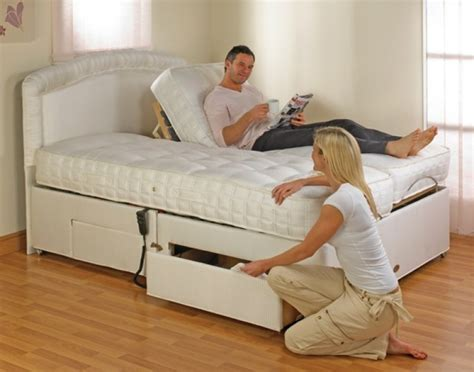 furmanac mibed emily 4ft small electric adjustable bed by mibed