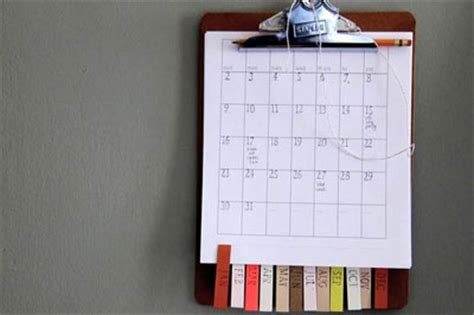 make your own calendar ideas calendario bueno bonito y barato