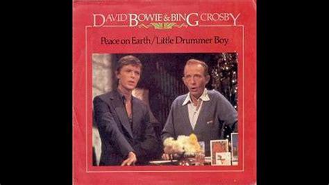 david crosby bing crosby david bowie bing crosby little drummer boy youtube