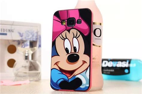 Casing Samsung A3 2017 Mickey And Minnie Mouse Custom new 2015 pink mickey mouse tpu cell phone cover for samsung galaxy a3 a300f in phone bags