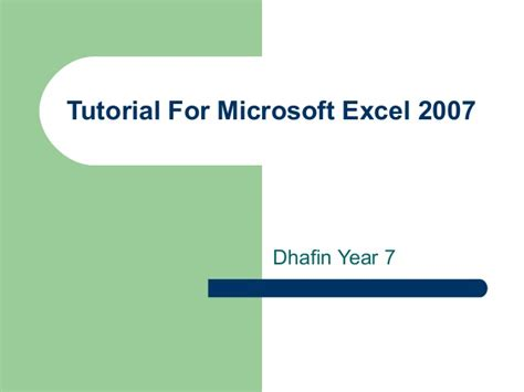 Tutorial Microsoft Excel 2007 Full | tutorial microsoft excel 2007