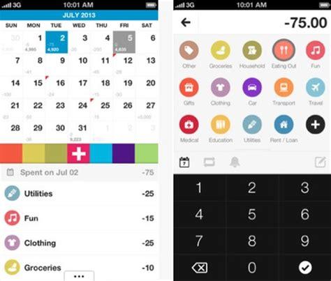 Budget Calendar App Iphone Daily Iphone App Dollarbird Expense Calendar Helps You