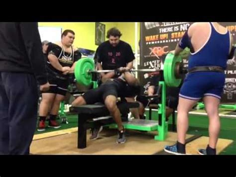 guy benches 500 pounds 500 pound bench press at 181 youtube