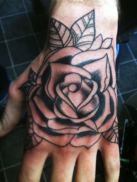 tattoo for back hand jason s future hand tattoos pinterest tattoo rose