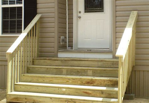 exterior stairs for mobile homes mobile homes ideas