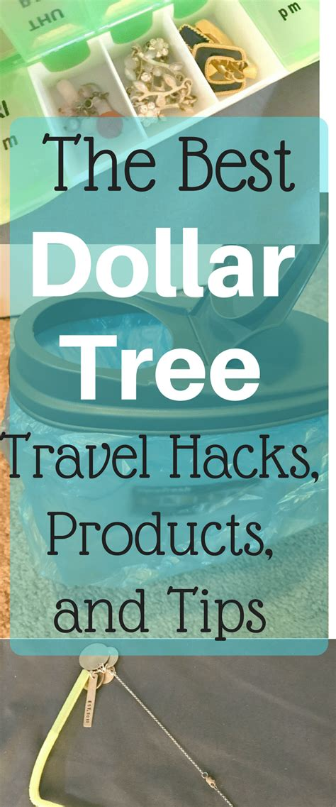 dollar tree hacks the best dollar tree travel hacks products and tips