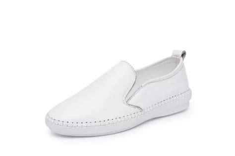 comfort shoes for nurses women comfort white leather nurse uniform shoes buy
