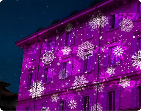 christmas falling snow projectors projectors for events lighting light decoration outdoor lighting