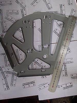 Fitting Rak Sepatu jual bracket fitting rak sepatu putar 3 susun besi gray