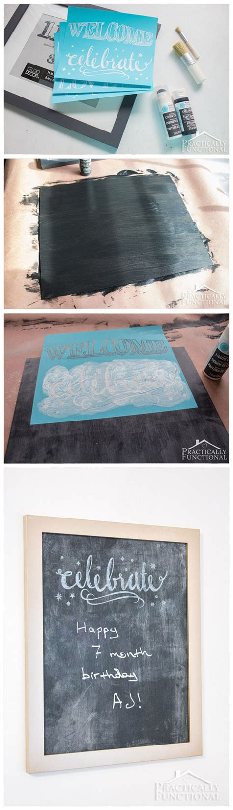 diy chalkboard duster diy chalkboard sign