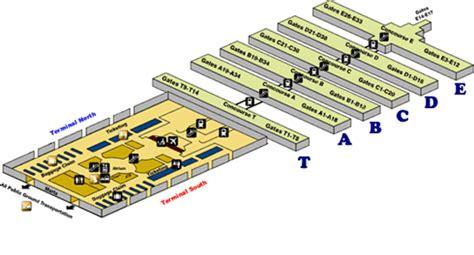 layout of atlanta airport atlanta airfares georgia atl