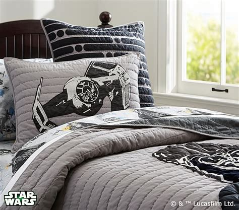 star wars bedding queen star wars quilt pottery barn kids