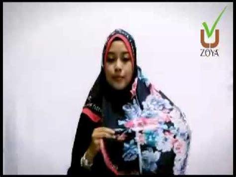 tutorial hijab zoya bela tutorial hijab style zoya blossom fashion style full