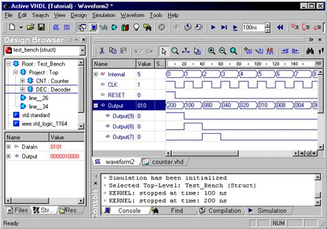 how to write test bench for vhdl code test benches in vhdl 28 images synapticad vhdl script