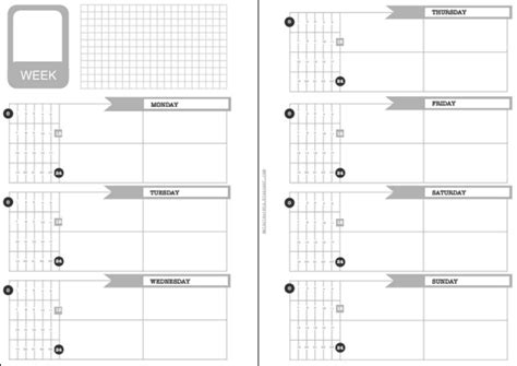 Philofaxy Planners And Planner Inserts For 2015 Moleskine Templates