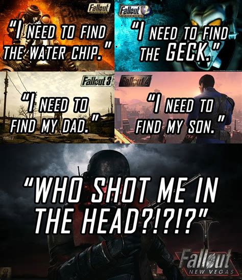 Who Me Meme - all the things look the same fallout know your meme