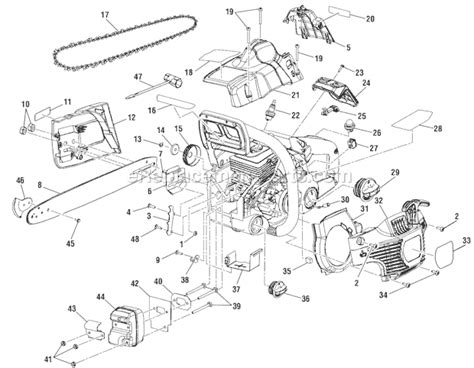 ryobi ry10521 parts list and diagram ereplacementparts