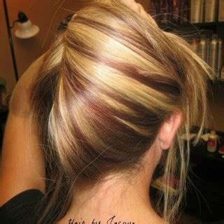 hairstyles red blonde highlights highlights for brown hair archives ideastand