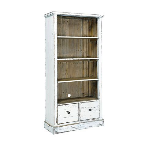 painted reclaimed timber bookcase by the orchard furniture