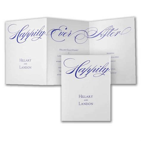 Happily After Wedding Invitations