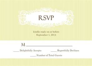 wedding invitations rsvp wording wedding rsvp wording formal and casual wording you will