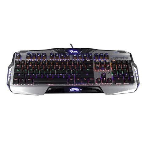 Keyboard E Blue Mazer e blue mazer mechanical 729 cz sk layout