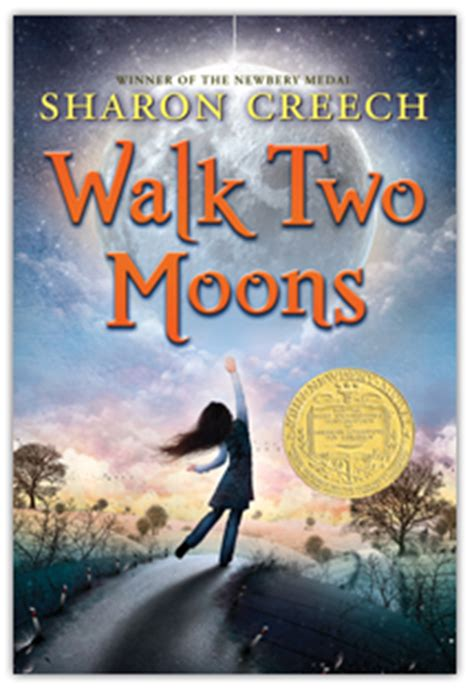 the normal child includes second book walk with one foot in front of the other books creech walk two moons by creech