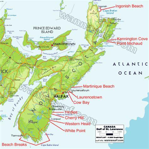 map of usa and canada east coast east coast surfer en east coast canada wannasurf