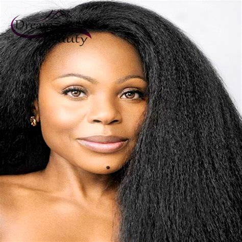 spiked human hair wigs for black woman spiked human hair wigs for black kl hair 13 6 deep part