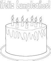 birthday coloring pages in spanish coloring pages imagenes cumplea 241 os
