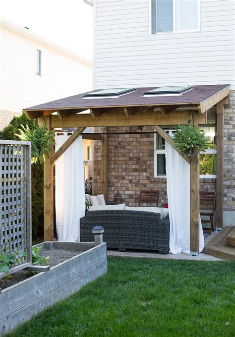 how to build a backyard patio hdblogsquad how to build a covered patio brittany stager