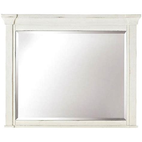 home decorators collection mirrors home decorators collection bridgeport 37 in x 46 in antique white framed mirror 1872700460