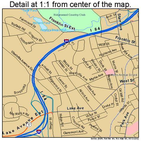 Danbury Ct danbury connecticut map 0918430
