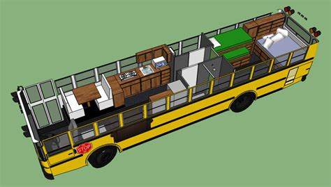 floor plans bus into a motorhome trend home design and decor