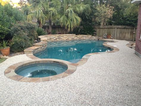Backyard Pools Cypress Cypress Custom Pools Helwick Remodel Before After