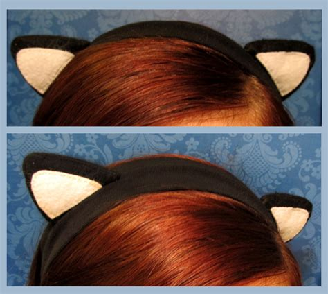 How To Make Cat Ears Headband Paper - from headband to cat ears 183 how to make an ear horn