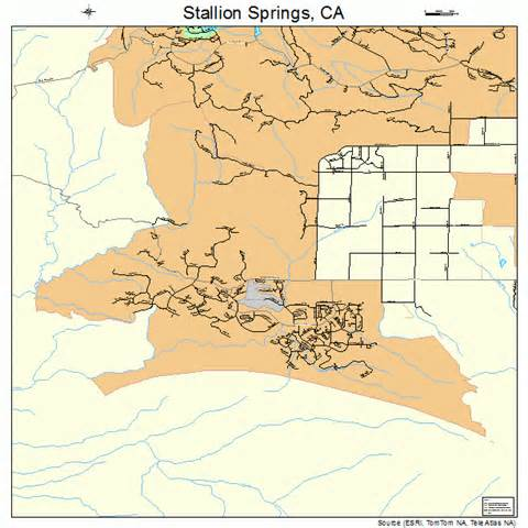stallion springs california map 0673868