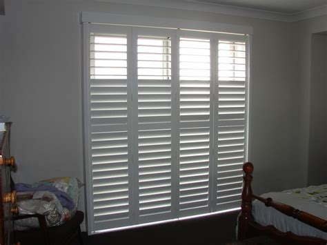 Sliding Shutter Closet Doors Bedroom Sliding Door Shutters Home Design Ideas