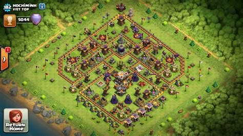 update layout coc town hall 11 best loot protected and war base design 2016