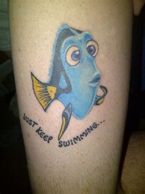just keep swimming tattoo picture at checkoutmyink com