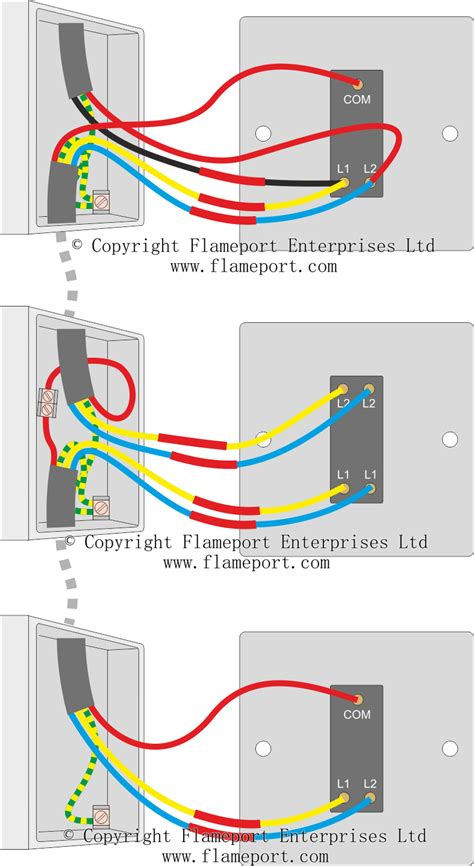 3 way light circuit wiring diagram