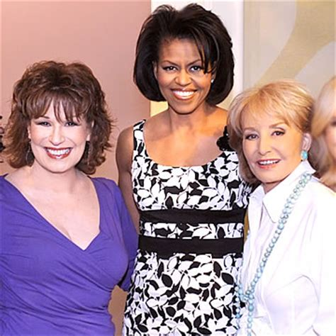 michelle obama on the view lavender boulevard