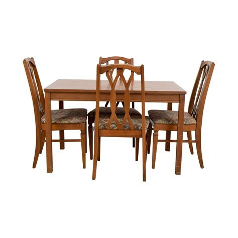 upholstered kitchen table chairs dining sets used dining sets for sale